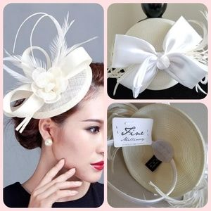 NWT August Hat Company fascinator hat